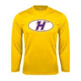 Performance Gold Longsleeve Shirt-H Mark
