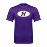 Performance Purple Tee-H Mark