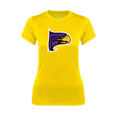 Ladies Syntrel Performance Gold Tee-Hawk Head
