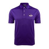 Purple Dry Mesh Polo-Hunter College