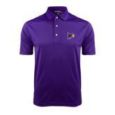 Purple Dry Mesh Polo-Hawk Head