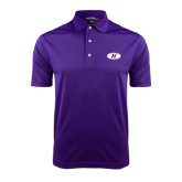 Purple Dry Mesh Polo-H Mark