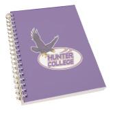 Clear 7 x 10 Spiral Journal Notebook-Hunter College