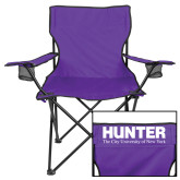 Deluxe Purple Captains Chair-Official Logo