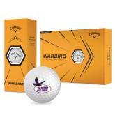 Callaway Warbird Golf Balls 12/pkg-Hunter College