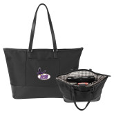 Stella Black Computer Tote-Hunter College