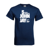 Navy T Shirt-50th Anniversary