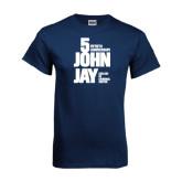 Navy T Shirt-50th Anniversary