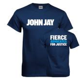 Navy T Shirt-John Jay