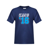 Youth Navy T Shirt-Class of 2016