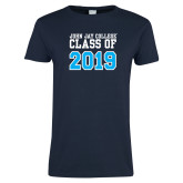 Ladies Navy T Shirt-Class of 2016
