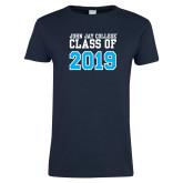 Ladies Navy T Shirt-Class of