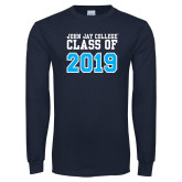 Navy Long Sleeve T Shirt-Class of