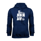 Navy Fleece Hood-50th Anniversary