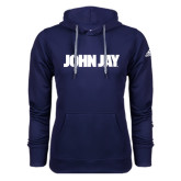 Adidas Climawarm Navy Team Issue Hoodie-John Jay