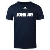 Adidas Navy Logo T Shirt-John Jay