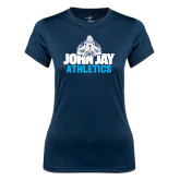 Ladies Syntrel Performance Navy Tee-Athletics