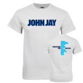 White T Shirt-John Jay