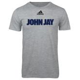 Adidas Sport Grey Logo T Shirt-John Jay