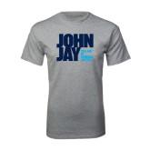 Sport Grey T Shirt-Official Logo