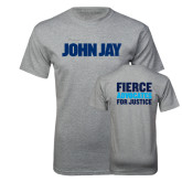Grey T Shirt-John Jay