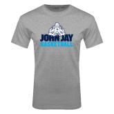 Sport Grey T Shirt-Basketball