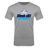 Sport Grey T Shirt-Swimming