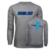 Grey Long Sleeve T Shirt-John Jay