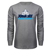 Grey Long Sleeve T Shirt-Cross Country