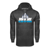 Under Armour Carbon Performance Sweats Team Hood-John Jay Bloodhounds