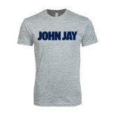 Next Level SoftStyle Heather Grey T Shirt-John Jay