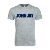 Next Level SoftStyle Heather Grey T Shirt-John Jay