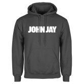 Charcoal Fleece Hood-John Jay