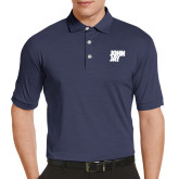 Callaway Tonal Navy Polo-Official Logo