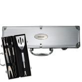 Grill Master 3pc BBQ Set-John Jay Engraved