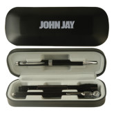 Black Roadster Gift Set-John Jay Engraved