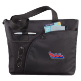 Excel Black Sport Utility Tote-The Wave