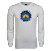 White Long Sleeve T Shirt-LightHouse