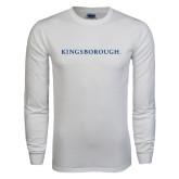 White Long Sleeve T Shirt-Kingsborough