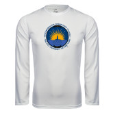Community College Performance White Longsleeve Shirt-LightHouse