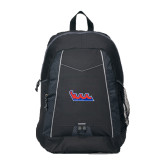 Impulse Black Backpack-The Wave