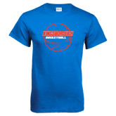 Community College Royal T Shirt-BasketBall School in Ball