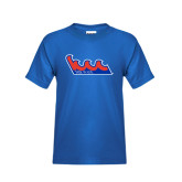 Community College Youth Royal T Shirt-The Wave