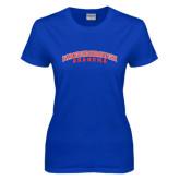 Community College Ladies Royal T Shirt-Grandma