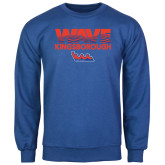 Community College Royal Fleece Crew-Wave
