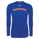 Under Armour Royal Long Sleeve Tech Tee-Arched Kingsborough
