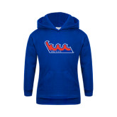 Community College Youth Royal Fleece Hoodie-The Wave