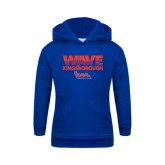 Community College Youth Royal Fleece Hoodie-Wave