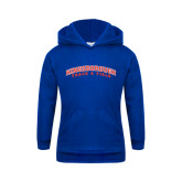 Community College Youth Royal Fleece Hoodie-Track and Field