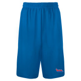 Community College Performance Classic Royal 9 Inch Short-The Wave